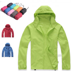Outdoor Skin Raincoat Hiking Jacket Quick-drying Protection Skinsuits