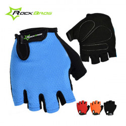 ROCKBROS Sports Wear Bicycle Cycling Short Half Finger Gloves Mittens