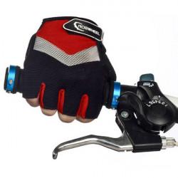 ROSWHEEL Radfahren halbe Fingerhandschuhe Outdoor Handschuhe Bike Zubehör