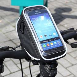 ROSWHEEL Cykling Styre Pekskärm Mobiltelefon Väska