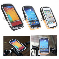 ROSHjul Cykel Bike Pouch Cykeltaske Overrør Mobiltelefon Tube Bag