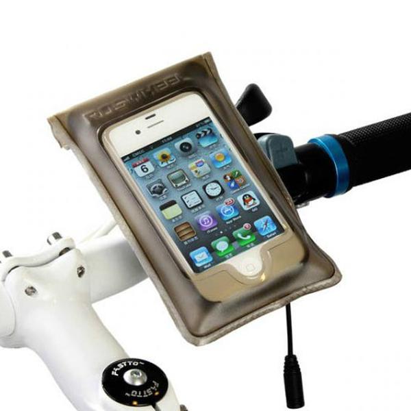 Roswheel Bike Bicycle Handlebar Touch Screen Waterproof Pouch Bag Cycling