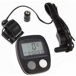 SAHOO 14 Functions Waterproof Bicycle Computer Odometer Speedometer