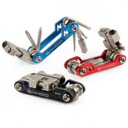 SAHOO 17 in 1 Bike Bicycle Repair Multifunction Tools Wrench Tool