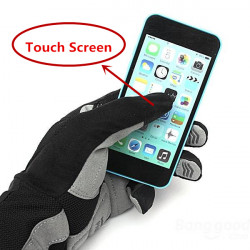 SAHOO Cycling Bicycle Shock-absorbing Touch Screen Gloves