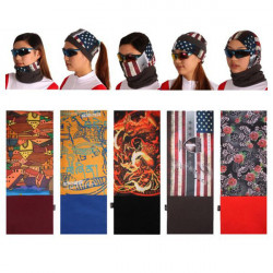 SAHOO Multifunctional Windproof Bicycle Bike Head Scarf Warm Scarf
