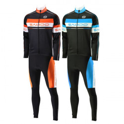SAHOO Winter Bike Bicycle Cycling Jersey Suit Thermal Cycling Clothing