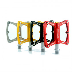 SCUDGOOD Triple Bearings Aluminum Alloy Axe Style Bicycle Pedals