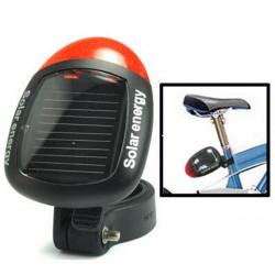 Sonnenenergie Fahrrad Rückseiten Endstück Red 2 LED 4 Modus Licht Lampe