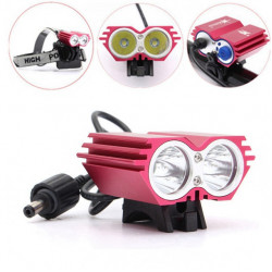 Solarstorm 2xCREE XML T6 LED Waterproof Headlight Headlamp