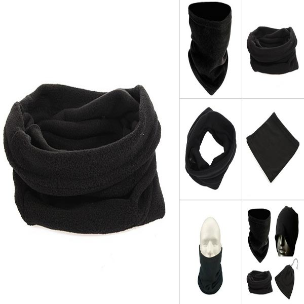 Sport Fleece Face Mask Neck Scarf Cap Snood Cycling
