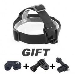 Sportschutzhelm Kopfhalterung einstellen Adapter Ständer für Sport Kameras