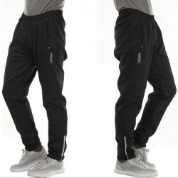 Sports Windproof Thermal Fleece Trousers Bicycle Cycling Padded Pants