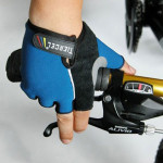 TIERCEL Cykel Halvfinger Blue Handskar Mountainbike Handskar Cykel