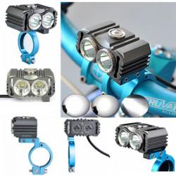 Trustfire TR-D016 2X CREE XM-L2 LED Bike Headlight Headlamp Torch
