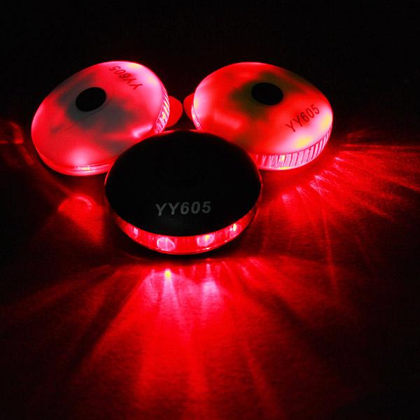 UFO LED Cykel Baglygter Bike Strobe Sikkerhedsforanstaltninger Advarsel Lys Cykel