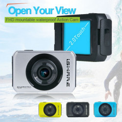 """iShare S200 HD Sport Action Kamera 1080P 2.0"""" Touch Camcorder"""
