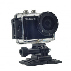 iShare S602 1080P 5MP Sport Action Camera 1.5inch LCD Camcorder