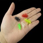 20 pcs Luminous Soft Bait Bass Lures Cricket Fishing