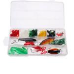40 PCS Taigek Fishing Lure Suit Soft Bait Hard Bait Suit Fishing