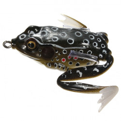 55mm Soft Topwater Fishing Ray Frog Lures Bass Baits Crankbaits