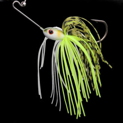 7g Bazzbait Metal Spinner Bait Floating Fishing Lure