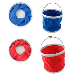 9L Portable Folding Bucket Retractable Canvas Car Washing Bucket