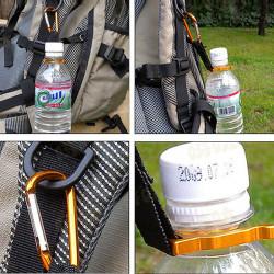 Aluminum Hanging Spänne Mineral Water Bottle Clip Drinks Bottle Spänne