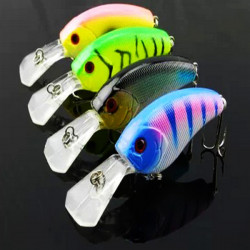 Artificial Baits Crankbait Fishing Lures Bass Hook