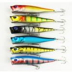 Artificial Baits Poper Crankbait Fishing Lures Bass Hook Fishing