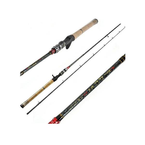 Bait Casting Rods Carbon H Power Rod Fiskestang Lys Weight Fiskeri