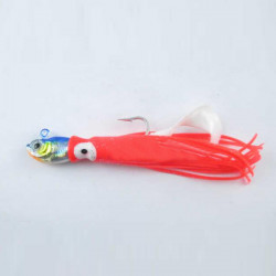 Big Game Trolling Lure luminous Squid Fishing Bait