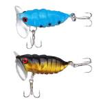 Biomimetic Cicada Type Fishing lures Bass Hooks Fishing