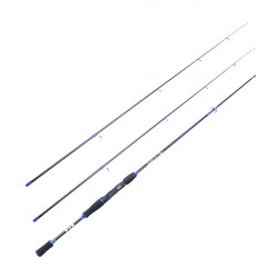 Carbonfiber H Power Spinning Bait Casting Fishing Rod Pole 2.1M/2.4M
