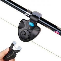 Elektronische Angelrute LED Light Bell Clip Fisch Bissanzeiger Werkzeug