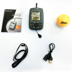 FF168W Wireless Sonar Sensor Muddy Water River Sea Ice Fish Finder