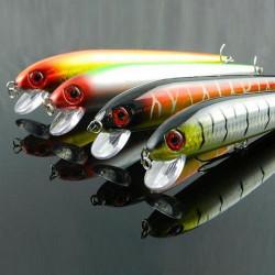 Fishing Lures Bass Minnow Crankbait Hard Baits Hooks