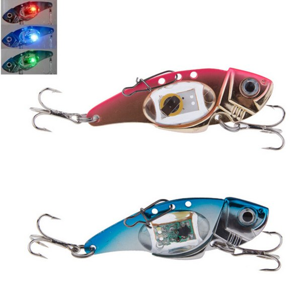 Flash LED Light Bait Fishing Lure Light Electronic Fishing Lamp Fishing