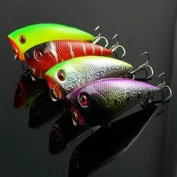 Lure Popper Fish Shape Bait Fishing Hook for Bass