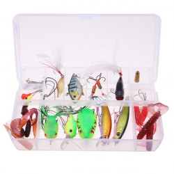 Lure Soft Bait Set Hard Bait Fishing Tackle Fishing Lure Set Lure Kit