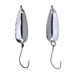 Metal Fishing Lure Classic Horse Mouth Spoon Sequins Bass Bait