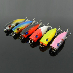Minnow Artificial Baits Crankbait Fishing Lures Bass Hook