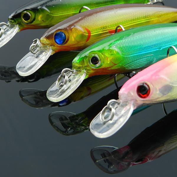 Minnow Fishing Lure Bass Hard Bait Tackleass Baits Hooks Fishing