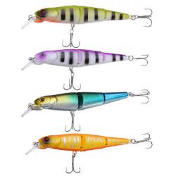 Minnow Hårt Crankbait Swimbait 3 Sentions Fish Beten Bass Fishing