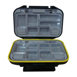 Portable 12-Compartment Fishing Tackle Box Multi Fishing Tackle Case
