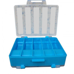 Bärbar 5-Fack Rutan Dubbel Tackle Box