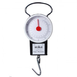 Portable Fishing Luggage Scale with Hook Rule Electronic Fishing Tool