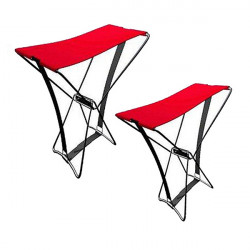 Portable Folding Stool Camping Pocket Beach Chair Fishing Equipment