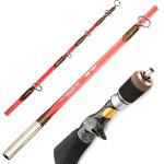 Portable Ice Fishing Rod Suit Mini Ice Fishing Tackle Fishing
