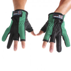 Professionelle mehrfache Farben Angeln Handschuhe für Angeln ein Paar